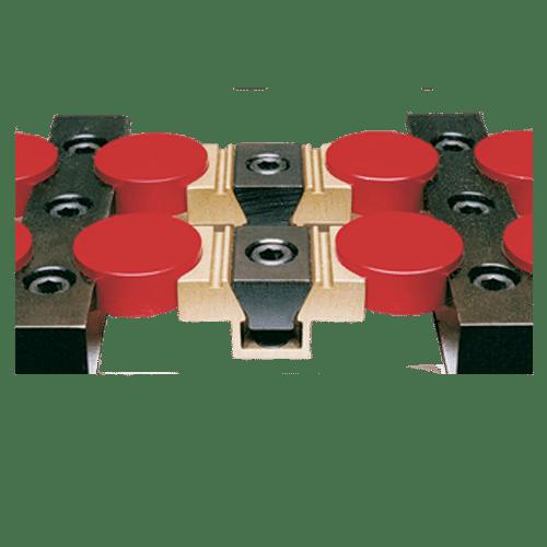 İşlenebilir uniforce clampleri